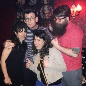 Natasha Leggero, Moshe Kasher, Shira Pinsker,Chris Trew